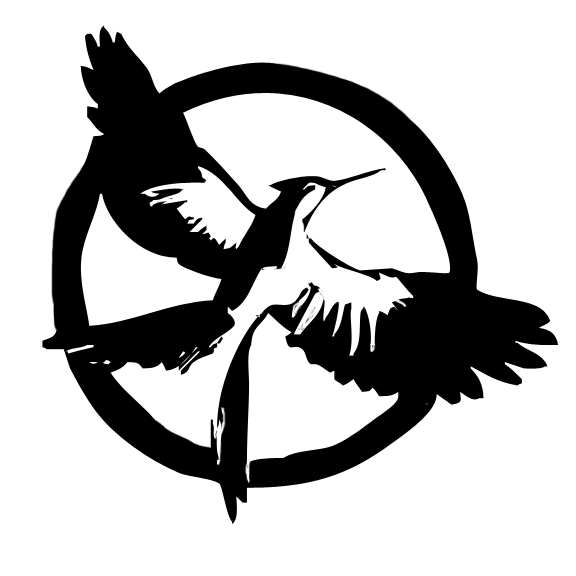 576x576 Updated Mockingjay Stencil Holly, Every Day
