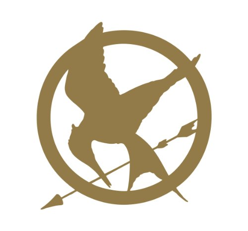 500x466 Decals Buy Hunger Games Merchandise And Gifts