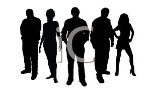 300x177 Silhouette Of A Group Of Models