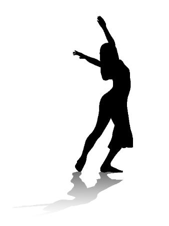 338x450 Modern Dancer Silhouette Clipart Library