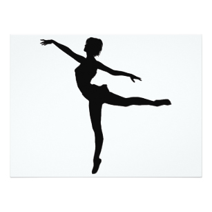 Modern Dancer Silhouette