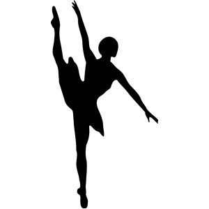 300x300 16 Best Ballet Silhouettes Images On Ballet Class
