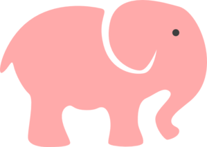 299x213 Mama And Baby Elephant Clip Art Clipart Collection