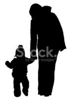 141x200 Mom And Baby Silhouette (Vector Amp Jpeg) Stock Vectors