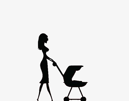 543x424 Mother And Baby Silhouette, Mom, Baby, Sketch Png And Psd File