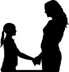 236x247 Silhouettes Of Mother And Daughter
