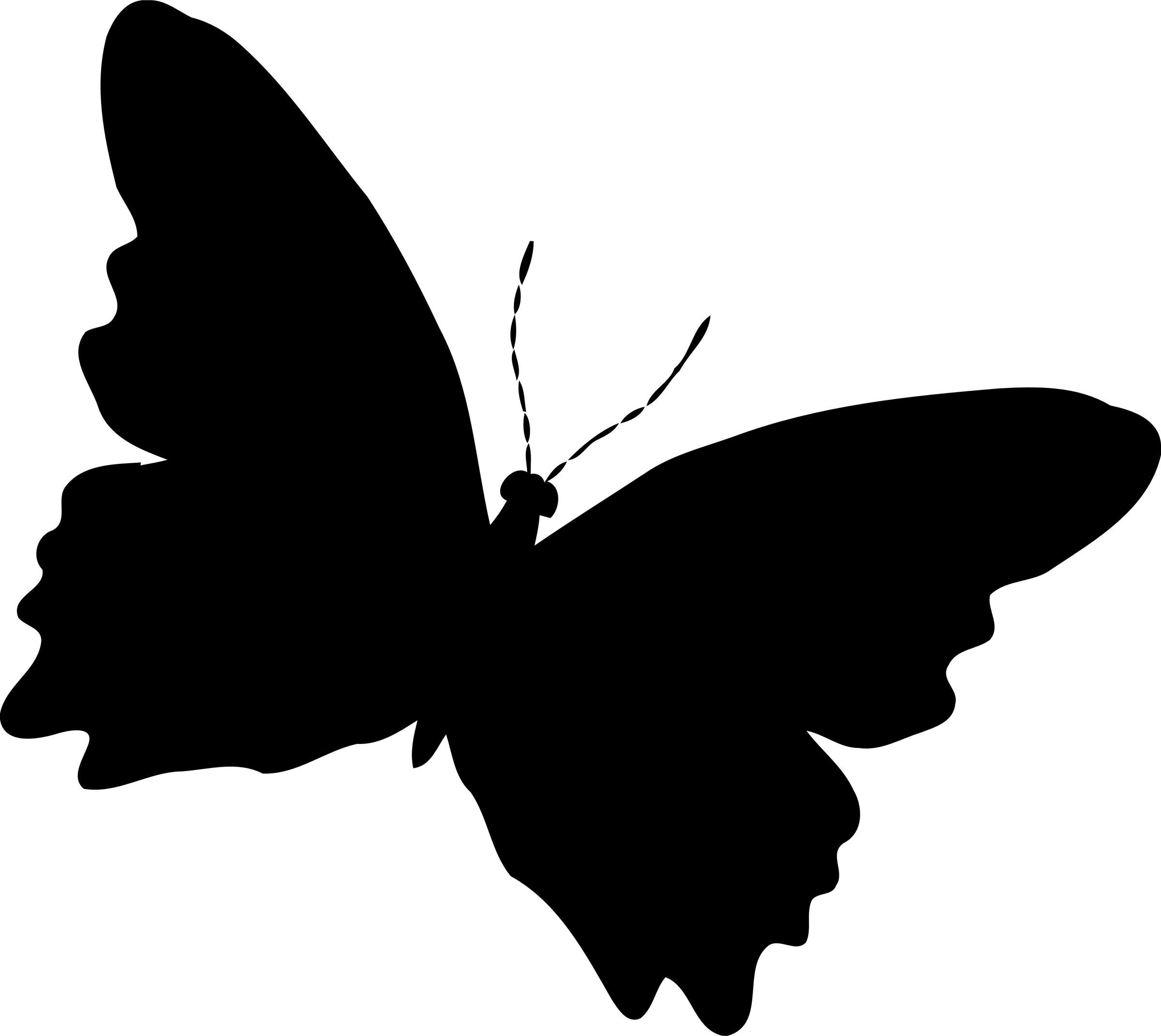 2400x2142 Free Butterfly Icons Png, Butterfly Images