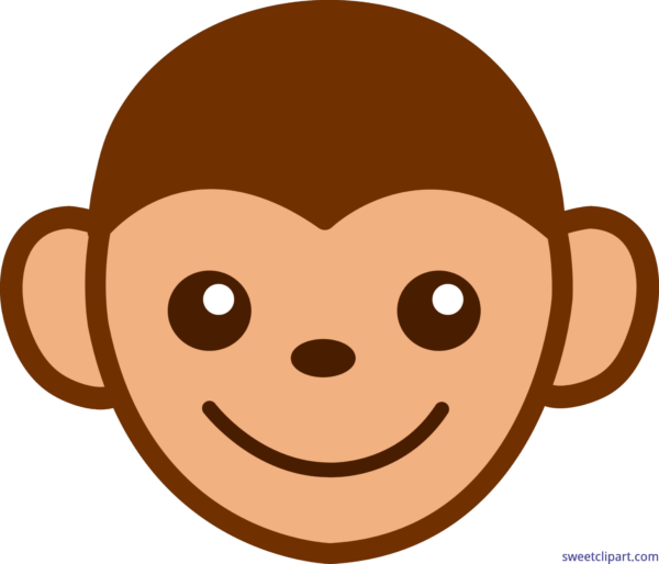 monkey face silhouette at getdrawings com free for personal use rh getdrawings com cute monkey face clipart