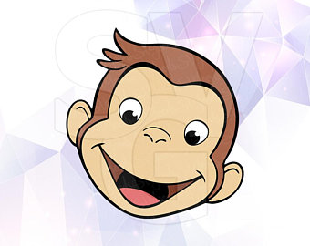 340x270 Curious George Svg Etsy