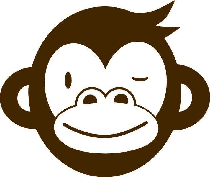 712x600 Großes Affengesicht, braun, Sportsfreunde, Velours Motiv zum