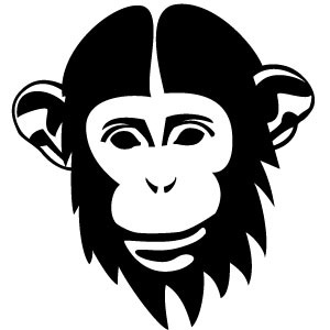 300x300 Chimp Vector