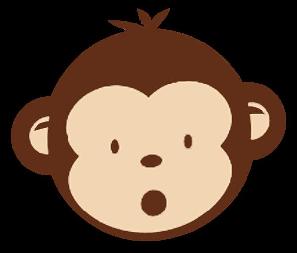 600x512 Monkey Silhouette Clipart