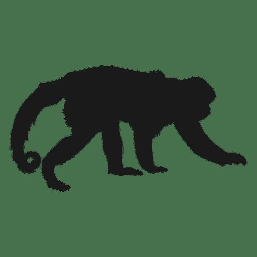 512x512 Monkey Silhouette