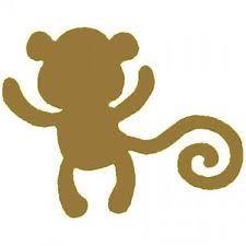 225x225 Monkey Silhouette Babies!!! Monkey, Silhouettes