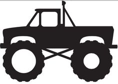 Monster Truck Silhouette
