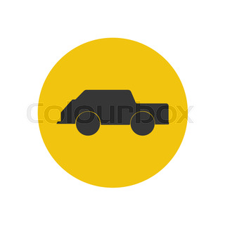 320x320 Silhouette Of Racing Car For Sports Design Stock Vector Colourbox
