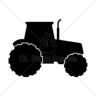 325x325 Tractor Icon Gl Stock Images