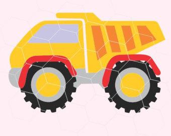340x270 Christmas Monster Truck Svg File,toddler Boy Svg File Commercial