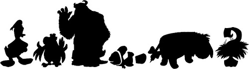 500x140 Disney In Silhouette The Craft Chop