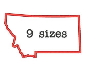 340x270 Montana Outline Etsy