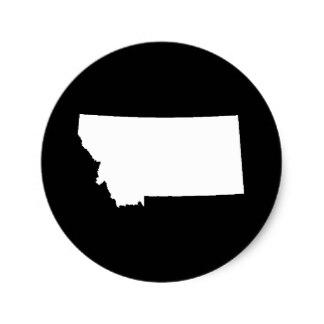 324x324 State Of Montana Stickers Zazzle