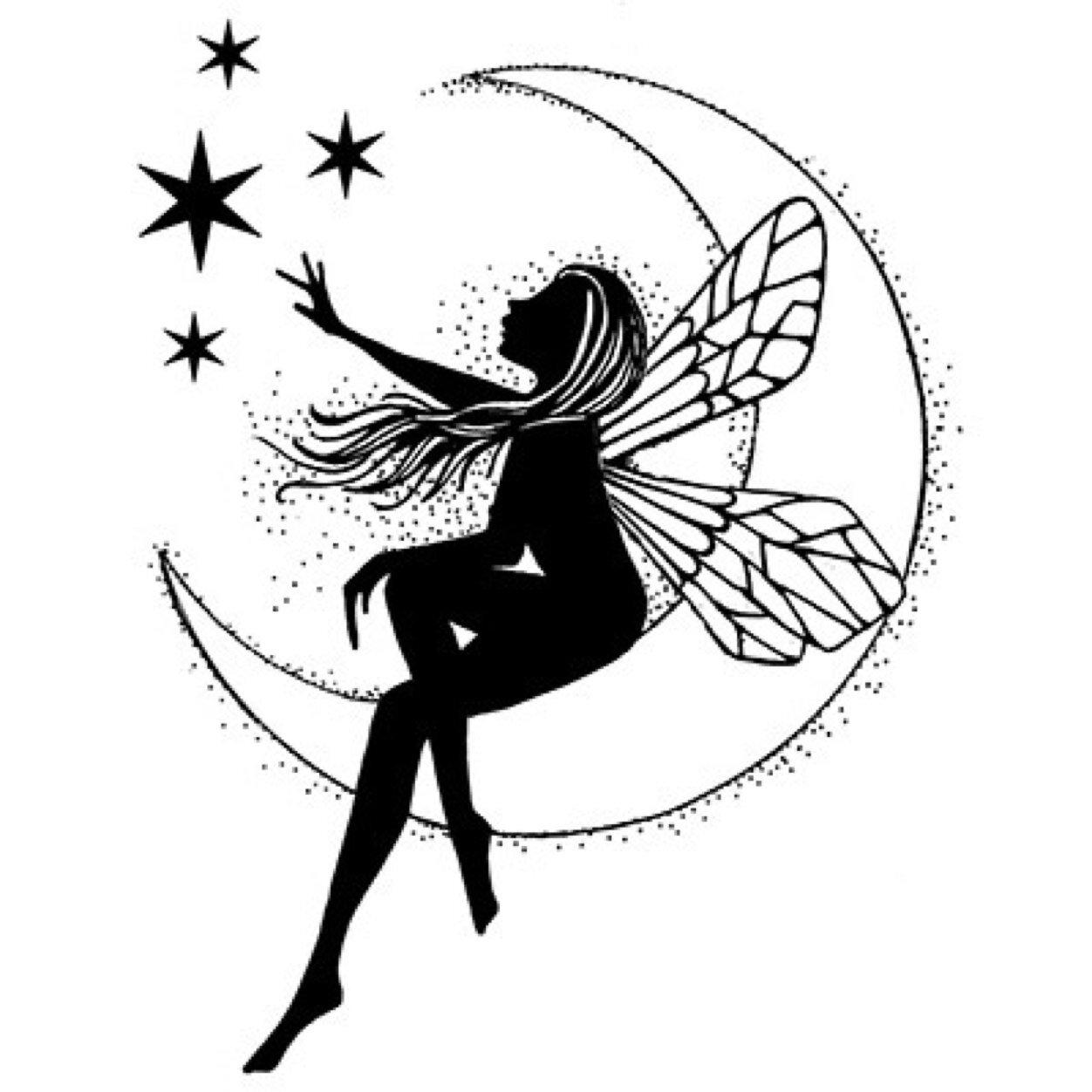 1252x1252 Fairy With Stars Tattoos Ideas