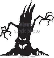 217x233 Halloween Cartoon, Set Black Silhouette On White Background Witch
