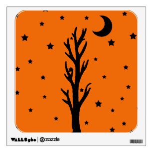 307x307 Black Tree Silhouette Wall Decals Amp Wall Stickers Zazzle