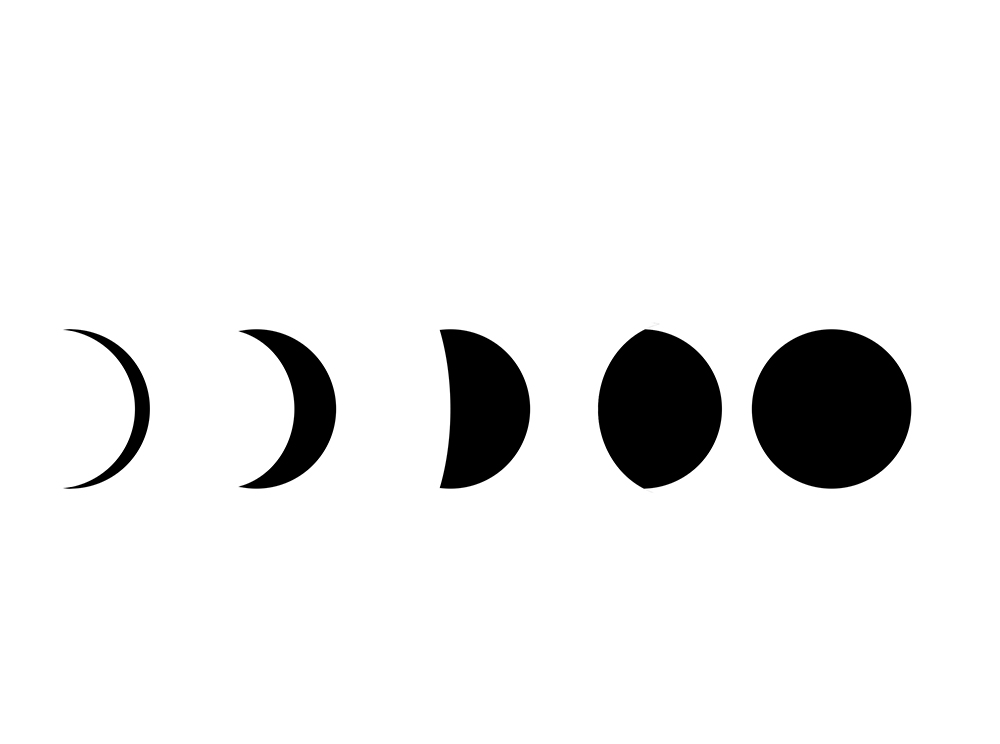 1000x744 Phases Of The Moon Tattoos Designs