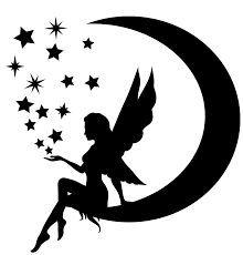 220x230 Moon Fairy Silhouette