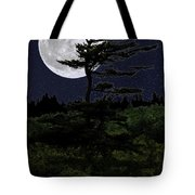 180x180 Favorite Tree In Full Moon Silhouette Shower Curtain For Sale By