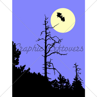 325x325 Silhouette Woodpecker On Dry Tree Isolated On White Backg Gl