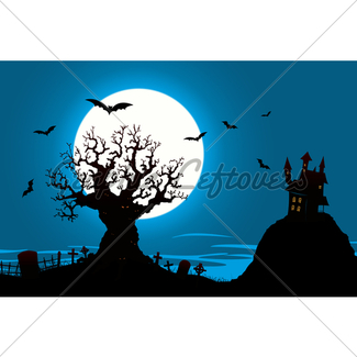 325x325 Cartoon Halloween Background Gl Stock Images