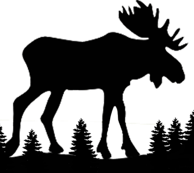 387x345 List Of Synonyms And Antonyms Of The Word Moose Silhouette
