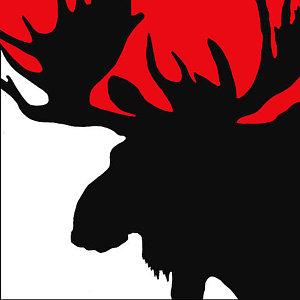 300x300 Moose Antlers Paintings