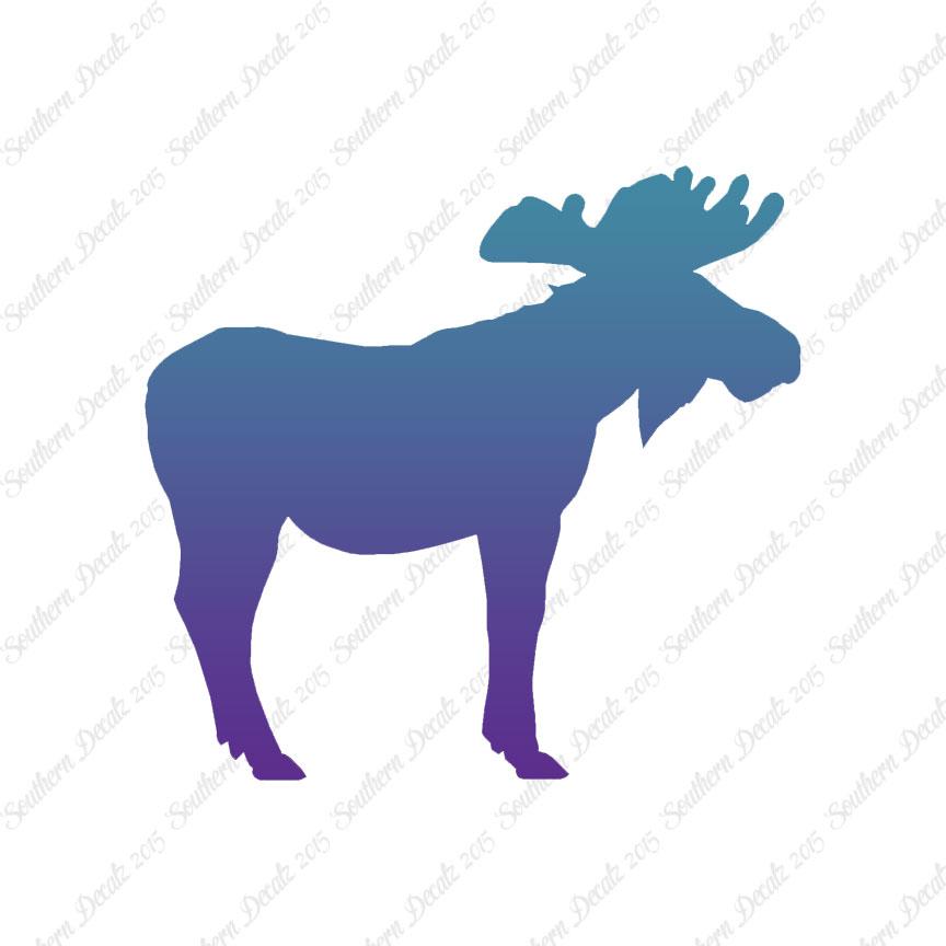 864x864 Bull Moose Antlers