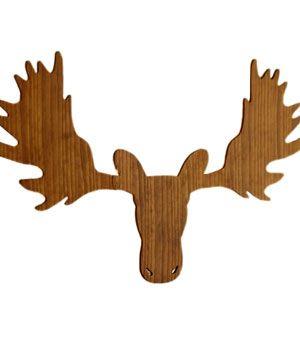 300x357 Moose Head Silhouette Pattern Moose Head Silhouette Pattern