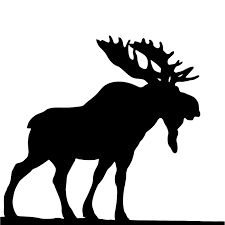 225x225 Moose Head Silhouette Moose, High Quality Images And Silhouette