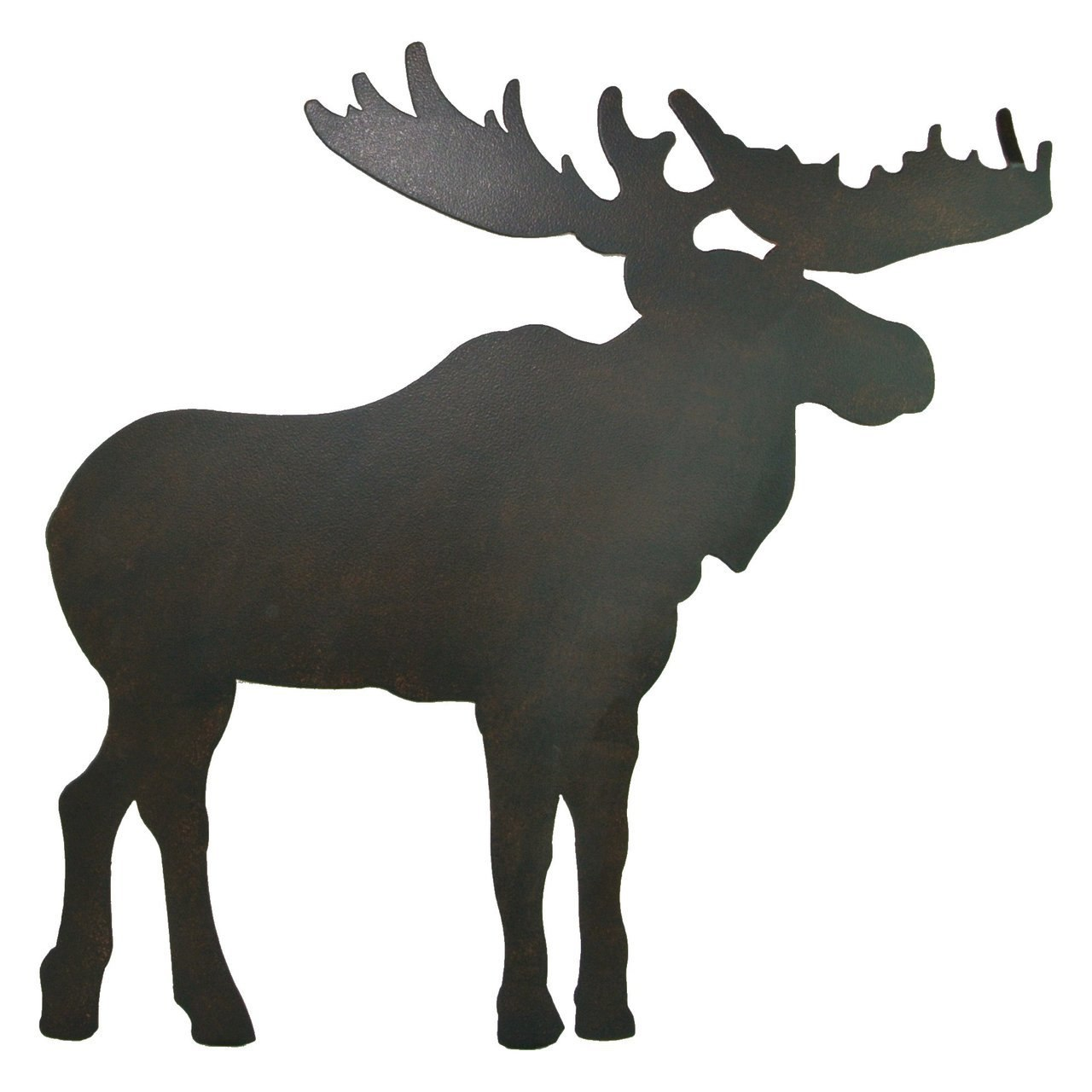 1280x1280 Metal Moose Silhouette Wallhanging