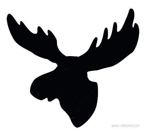 513x455 Moose Silhouette Moose Silhouette Clip Art