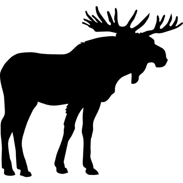 626x626 Moose Shape Icons Free Download