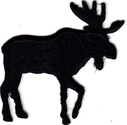 500x491 Single Count] Custom And Unique (2 14 X 2 14) Moose Silhouette