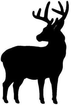 236x349 Moose Stencil, Moose Stencils, Animal Stencils, Wall Stencils