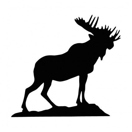 Moose Silhouette Vector