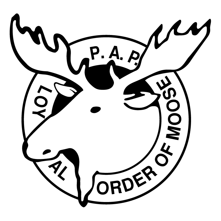 745x745 Moose Lodge Free Vector 4vector