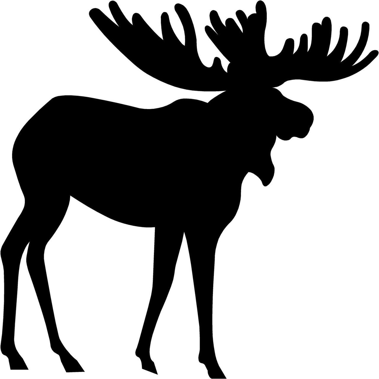 moose silhouettes moose silhouette vector at getdrawings com free for 2201