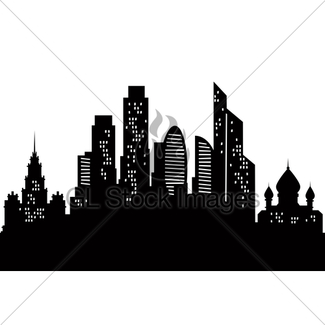 325x325 Vector Russia Moscow City Skyline Gl Stock Images