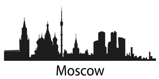 512x256 List Of Synonyms And Antonyms Of The Word Moscow Skyline Silhouette