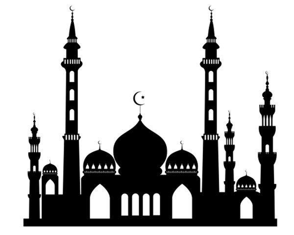 600x480 Freebie Mosque Silhouette Mosque, Ramadan And Eid