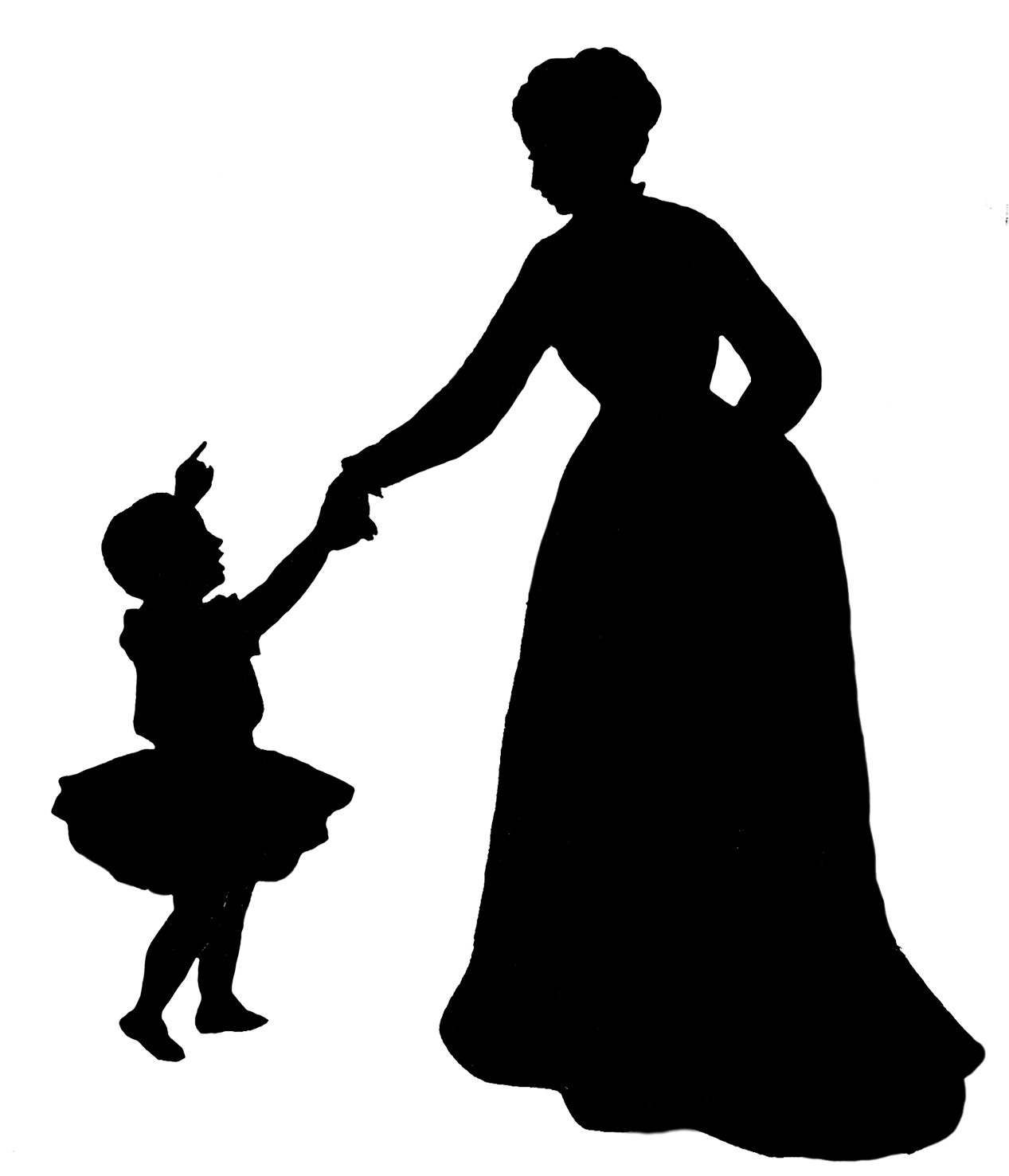 1267x1477 Silhouettes Of People